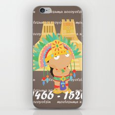 Moctezuma Xocoyotzin iPhone & iPod Skin