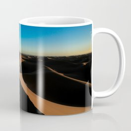 The desert with its dunes III Coffee Mug