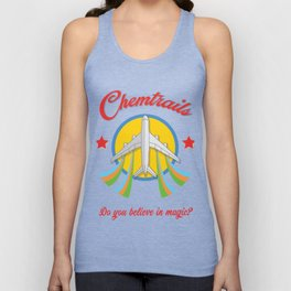 Chemtrails Unisex Tank Top