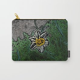 Surreal White Daisy  Carry-All Pouch