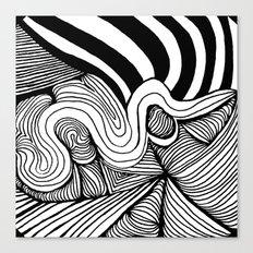 Zentangle #22 Canvas Print