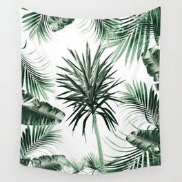 Tropical Summer Vibes Leaves Mix #2 #tropical #decor #art #society6 Wall Tapestry