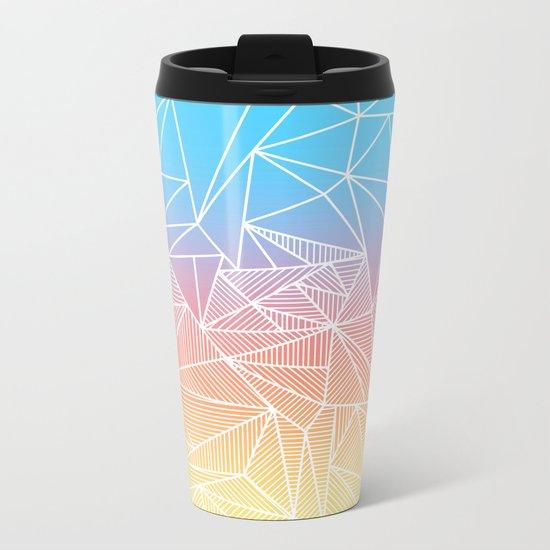 Bakana Rays Metal Travel Mug
