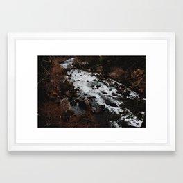 Flowing River Framed Art Print