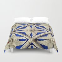 theater Duvet Covers featuring Warnors Theater Ceiling by Casual Glitz