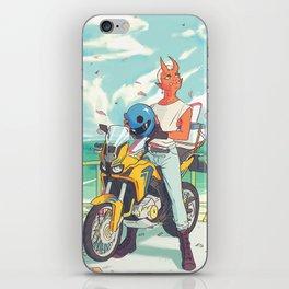 Sky Bike iPhone Skin