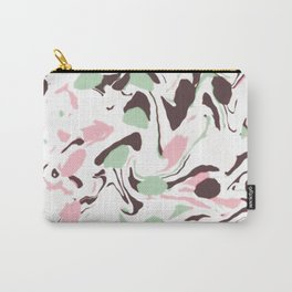 Stirred colors on white Carry-All Pouch
