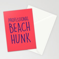 PROFESSIONAL BEACH HUNK Stationery Cards