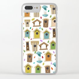 Bird Feeders Clear iPhone Case