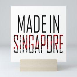 Made In Singapore Mini Art Print