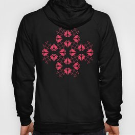 Flamingo Hearts Hoody