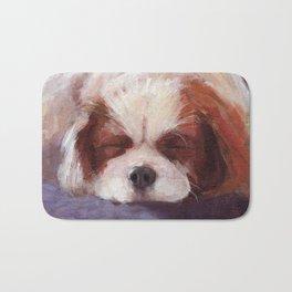 Sleeping Dog Bath Mat