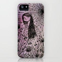 garden girl iPhone Case