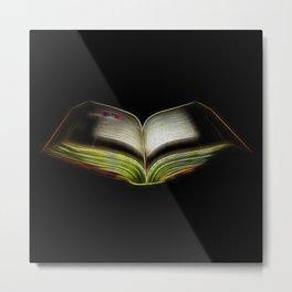 Fractal book Metal Print