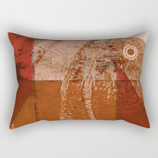 Testa dei Pesci Rectangular Pillow