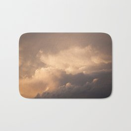 Sunset Clouds Bath Mat
