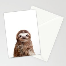 Little Sloth Stationery Cards