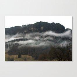 Swiss Fog V Canvas Print