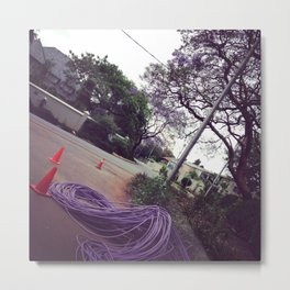 #260 #Purple #Infrastructure complementing our #Jaccarandas Metal Print