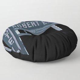 Robert E. Lee Motel Floor Pillow