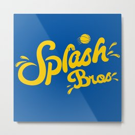 Splash Bros Metal Print