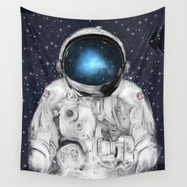 space adventurer Wall Tapestry