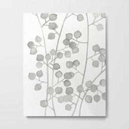Plant Pattern #3 Metal Print