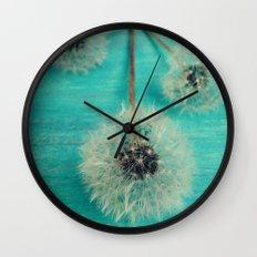 Three Wishes Wall Clock