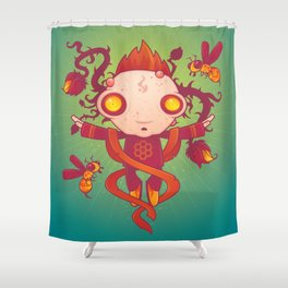 HIVES Shower Curtain