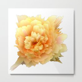 pastel spring flower 3d digital painting Metal Print