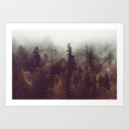Mountain Morning Mist - Nature Photography Art Print