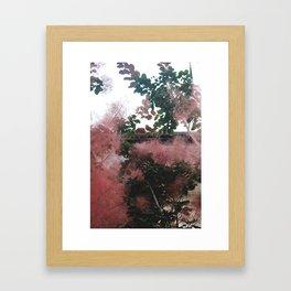 Fire Bush, 2017 Framed Art Print