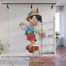Pinocho Wall Mural