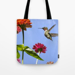 Hummingbird Happiness Tote Bag