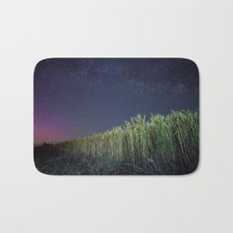 Wheat Field Planetarium Bath Mat