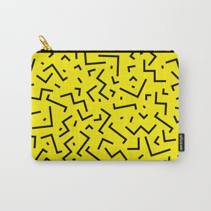 Memphis pattern 35 Carry-All Pouch