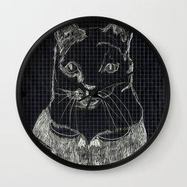 ofelia la gata Wall Clock