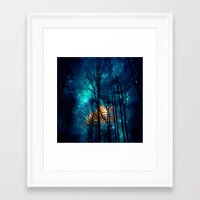 starry night Framed Art Prints featuring starry night by haroulita