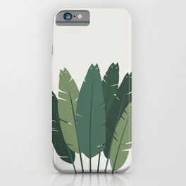 Cat and Plant 18 iPhone Case