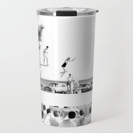 1950's Vintage Pool Party Travel Mug