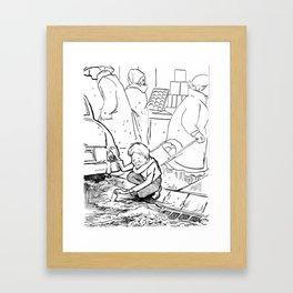 Cheer Up Charlie... Framed Art Print