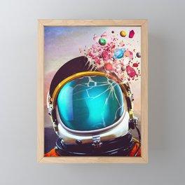 Mental Eruption Framed Mini Art Print