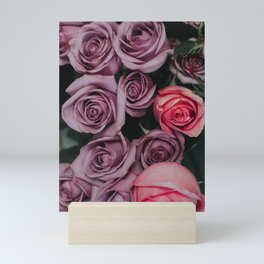 Purple Roses Mini Art Print