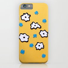 Dutch Flowers on Yellow Slim Case iPhone 6s