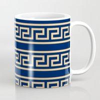 greek Mugs featuring Greek by Mr & Mrs Quirynen
