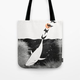 Dive into Happiness Tote Bag
