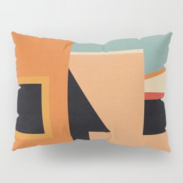 Summer Urban Landscape Pillow Sham