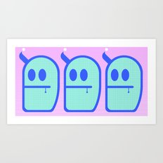 Mint Daddies. (3 Mr. Grubbo) Art Print