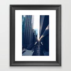 'Event Horizion' Framed Art Print