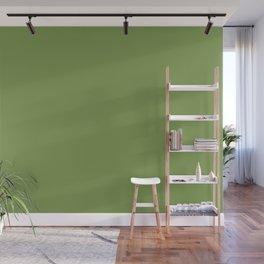 Floss Your Teeth ~ Grass Green Wall Mural
